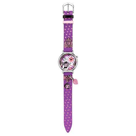 Elle Girl - Kids+ purple heart charm watch