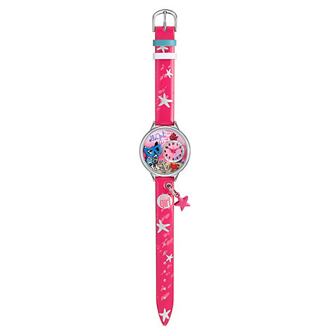 Elle Girl - Kids+ pink starfish charm watch