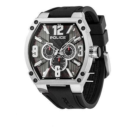 Police - Men+s black +cobra+ multi dial watch
