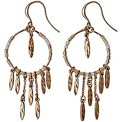 Pilgrim - Kornelia rose gold plated earrings