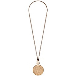 Pilgrim - Isadora rose gold plated necklace