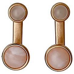 Pilgrim - Elda rose gold plated earrings