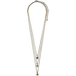 Pilgrim - Elda gold plated necklace