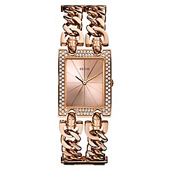 Guess - Ladies rose gold watch