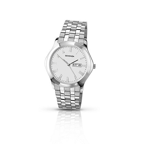 Sekonda - Men+s stainless steel bracelet watch 3447.28