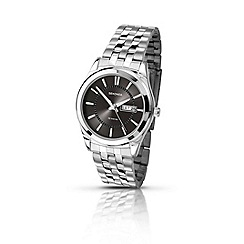 Sekonda - Men's black sunray dial watch