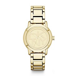 DKNY - Ladies gold bracelet watch