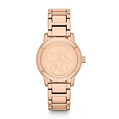 DKNY - Ladies rose gold bracelet watch