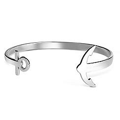 PAUL HEWITT - Unisex silver 'Ancuff' bracelet ph-cu-s-l
