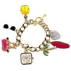 Juicy Couture - Ladies charm bracelet watch