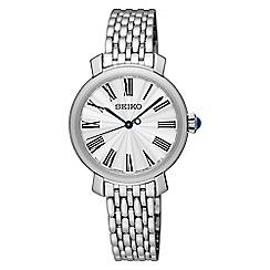 Seiko - Ladies silver watch SRZ495P1