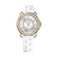 Juicy Couture - Ladies gold diamante watch