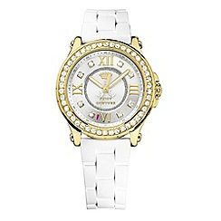 Juicy Couture - Ladies gold diamante numeral watch