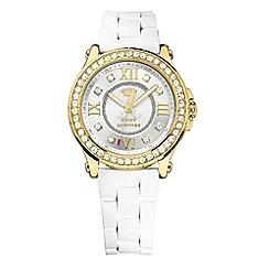 Juicy Couture - Ladies gold diamante numeral watch