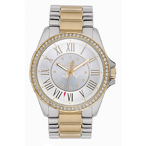 Juicy Couture - Ladies silver mixed plating numeral watch