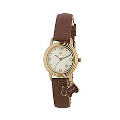 Radley - Ladies brown 'Darlington' watch RY2140