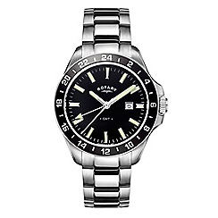 Rotary - Men's silver 'Havana' watch GB05017/04
