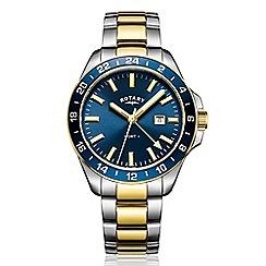 Rotary - Men's silver 'Havana' watch GB05082/05