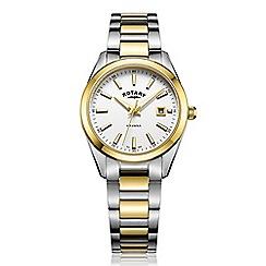 Rotary - Ladies gold 'Havana' watch LB05080/02