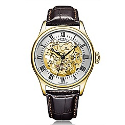Rotary - Men's gold 'Mechanique' watch GS02941/03
