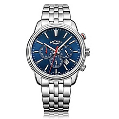 Rotary - Men's silver 'Monaco' chronograph watch GB05083/05