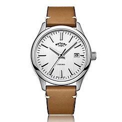 Rotary - Men's silver 'Oxford' watch GS05092/02