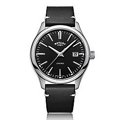 Rotary - Men's black 'Oxford' watch GS05092/04