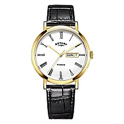 Rotary - Men's gold 'Windsor' watch GS05303/01