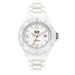 ICE - Unisex white silicone watch