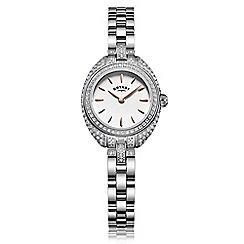 Rotary - Ladies silver 'Petite' watch LB05087/02