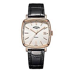 Rotary - Men's rose 'Windsor Cushion' watch GS05309/01