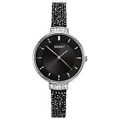 Sekonda - Ladies black 'seksy' fashion watch 2578.39
