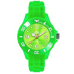 ICE - Unisex medium green silicone watch
