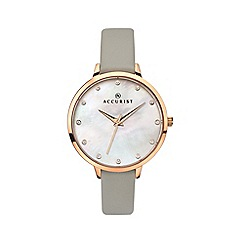 Accurist - Ladies grey watch 8156