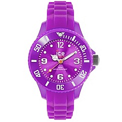 ICE - Unisex medium purple silicone watch
