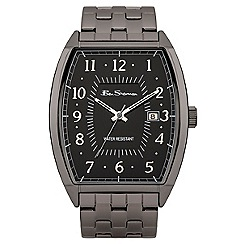 Ben Sherman - Men's stainless steel watch with black dial