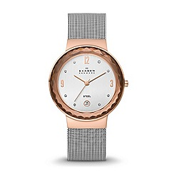 Skagen - Ladies classic two tone mesh Ladies watch