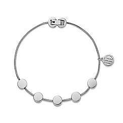 Tommy Hilfiger - Ladies stainless steel multi coin bracelet2700979
