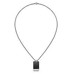 Tommy Hilfiger - Gents stainless steel dog tag chain