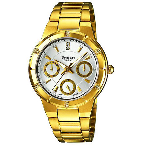 Sheen - Ladies gold bracelet watch