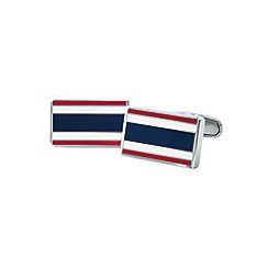 Tommy Hilfiger - Gents stainless steel flag cufflinks2700657
