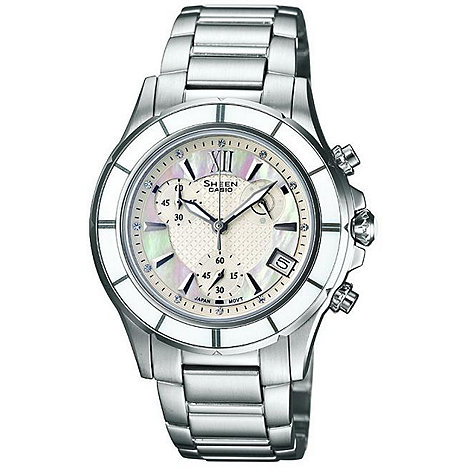 Sheen - Ladies silver bracelet watch
