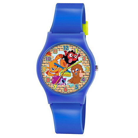 Moshi Monsters - Kids+ blue PU strap analogue watch