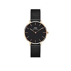 Diesel - Men's black silicone strap watch