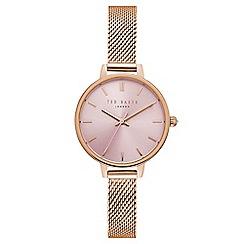 Ted Baker - Ladies rose gold watch te50070004