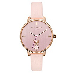 Ted Baker - Ladies pink analogue watch te15162004