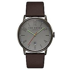 Ted Baker - Men's brown analogue watch te15067004