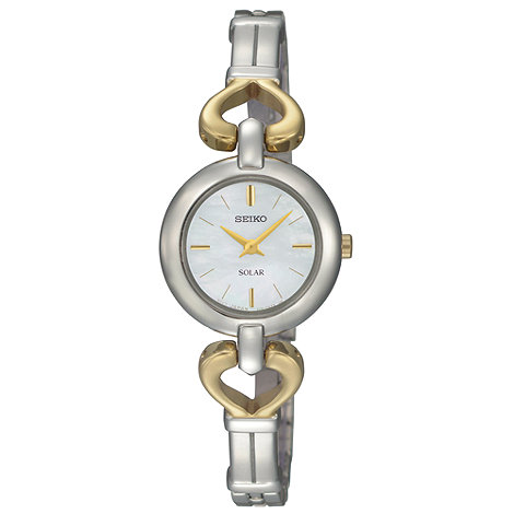 Seiko - Ladies two-toned solar watch