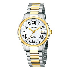 Pulsar - Ladies stainless steel two tone watch