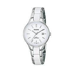 Pulsar - Ladies stainless steel white dial watch